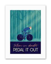 Sport Pedal It Out Cycling Bike Canvas art Prints