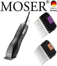 Moser max 50 TOSATRICE PER CANI PROFESSIONALE + ACCIAIO INOX PETTINI 6 mm,13 mm