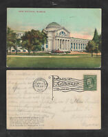 1910 NEW NATIONAL MUSEUM WASHINGTON DC POSTCARD