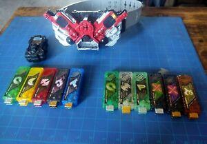 Bandai Kamen Rider W - DX Double Driver & DX/Gashapon Gaia Memory Set