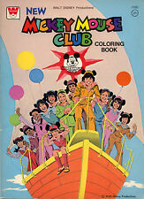 Mickey Mouse Club coloring book RARE UNUSED