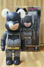 Medicom 400% Bearbrick Batman Bear@brick Figure Toy With Original Box
