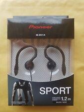 Auriculares Deportivos Ajustables PIONEER SE-E511- K - Serie Sport - Color Negro
