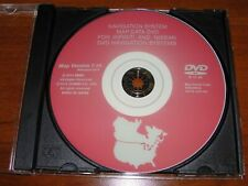 Nissan / Infiniti 2015 Navigation Map Update DVD 7.10 Latest & Last Release