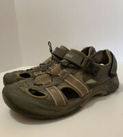 Teva Sandals Ankle Strap Water Hiking Mens Size 12 Shoc Pad