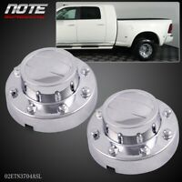 For  DODGE RAM 3500 1-TON Dually Rear Alcoa Alloy Wheel Center Caps 2011-2016