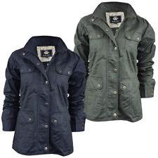 Brave Soul Zip Waist Length Cotton Coats & Jackets for Women