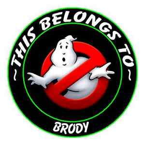 24 PERSONALIZED GHOSTBUSTERS GHOST BUSTERS Property Stickers Labels Name tags #2