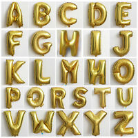 "16"" Mylar Foil Balloon Alphabet 26 Letter Birthday Wedding Party Festival Decor"