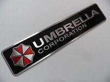 UMBRELLA Corporation Alu 3D Sticker Auto PKW Schriftzug Aufkleber Emblem Logo...