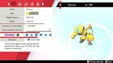 PERFECT 6IV EVENT ZERAORA Free 1 Mew 2 Masterball Pokémon Sword & Shield Home