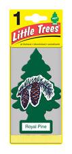 Paquet de 10 Royal Pin Little Trees pendant Voiture Maison Bureau Désodorisant