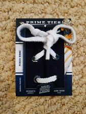 2012-13 Panini Prime Pekka Rinne Prime Ties 1/1 TRUE ONE OF ONE GU Shoe Lace