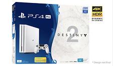 PS4 Pro 1TB Glacier White Console + Destiny 2 *NEW*+Warranty!!