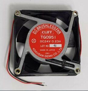 Kokusan Denki Fan TG0951 92x92x25mm 24Vdc KD-TG0951