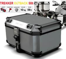 Givi Trekker OBKN58A OUTBACK 58 lt Valigia Monokey Bauletto Finitura Alluminio