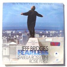 JEFF BRIDGES Fearless LASERDISC Warner Bros Video US 1993 2XDisc