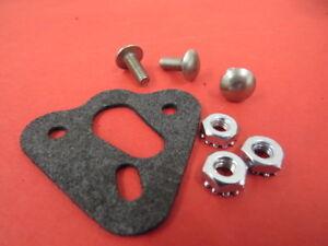 1933-48 Ford V8 engine oil pan dipstick tube boss mounting kit 48-6753-KT