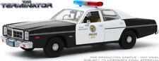GREENLIGHT 84101 1/24 1977 DODGE MONACO METROPOLITAN POLICE TERMINATOR