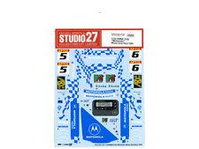 "1/24 1994 BMW 318i ""Motorola"" water slide decal set by Studio 27 suit Hasegawa"