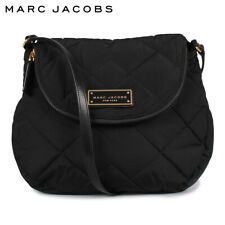 NWT Marc Jacobs Small Quilted Nylon Messenger Bag Black M0011379 MSRP $180