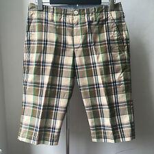 Very Cool JUNYA WATANABE COMME des GARCONS MAN Cotton tartan shorts Sz S