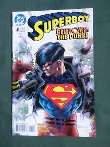 SUPERBOY MELTDOWN THE CURE - #41  DC COMIC  - JULY 1997  - VG