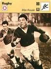 FICHE CARD: Max Rousié France Rugby League Rugby Union RUGBY à XV à XIII 1970s