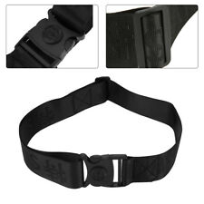 Outdoor Black Heavy Duty Security Guard Police Utility Belt Adjustable Waistband