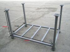 More details for steel stillage, heavy duty, metal post pallet, stackable, post pallet