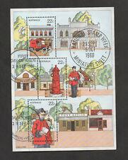 Australia #755a, National Stamp Week, 1980, souvenir sheet.