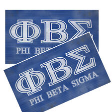 Phi Beta Sigma Greek Fraternity sorority Decals Pack Of Two