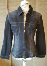 Taillierte Betty Barclay Jeansjacke Gr. 36 Jacke Übergang schwarz Damen