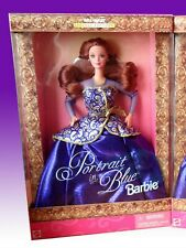 BARBIE PORTRAIT IN BLUE RED HAIR Wal-Mart Special edition  NRFB OTTIMA NUOVA