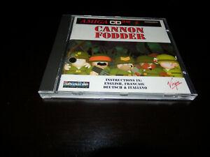 Cannon Fodder Amiga CD32