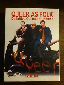 Queer As Folk Collectors Edition : Complete Season 1 & 2 (DVD, 4-Disc-Set)