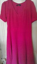 Holly Willoughby pink dress size 8