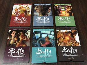 Buffy the Vampire Slayer Season 8 Graphic Novel Comic Vol 1-6 All First Editions