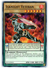 3x Igknight Veteran - DOCS-EN031 - Common - 1st Edition YuGiOh NM DOCS - Dimensi