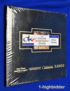 2006 Steve Young Commemorative Lifetime Achievement Book Operation Kids BYU 49er