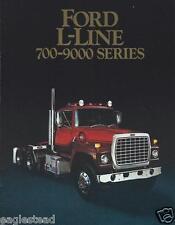 1986 Ford L-Series LN-700 L LN LNT LS LST 8000 L LN 9000 FL Truck Sales Brochure