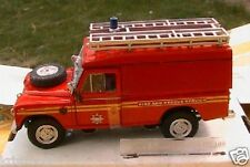 LAND ROVER SERIES III 109 FIRE & RESCUE CARARAMA 1/43