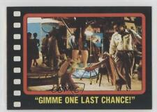 1987 Topps Who framed Roger Rabbit 30 Gimme One Last Chance! Non-Sports Card 0c4