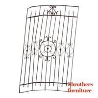 Antique Victorian Iron Gate Window Garden Fence Architectural Salvage #864