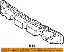 Jeep CHRYSLER OEM 15-16 Renegade Bumper Face-Foam Impact Absorber Bar 68255525AA
