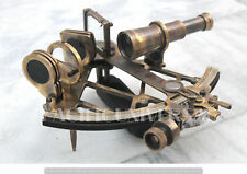 """Antique Style Replica Gift Vintage Sextant 9"""" Working Maritime Collectible Item."""