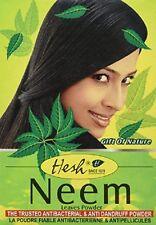 X2 Hesh 100% Ayurvedic Herbal Natural Antibacterial Neem Hair & Body Powder 100g