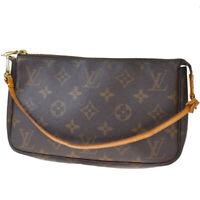 Authentic Louis Vuitton Pochette Accessories Hand Bag Monogram M51980 80MD931