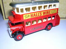 LLEDO DAYS-GONE AEC REGENT DOUBLE DECK BUS - GENERAL/HALLS WINE