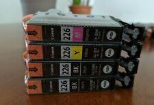 Canon Ink Combo CLI-226 2x Black + Yellow + Magenta Ink Cartridges